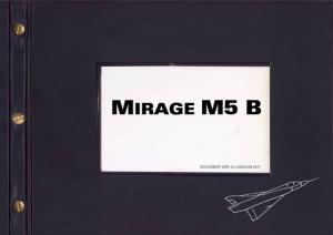 Mirage MB5 - Belgian Air Force Association
