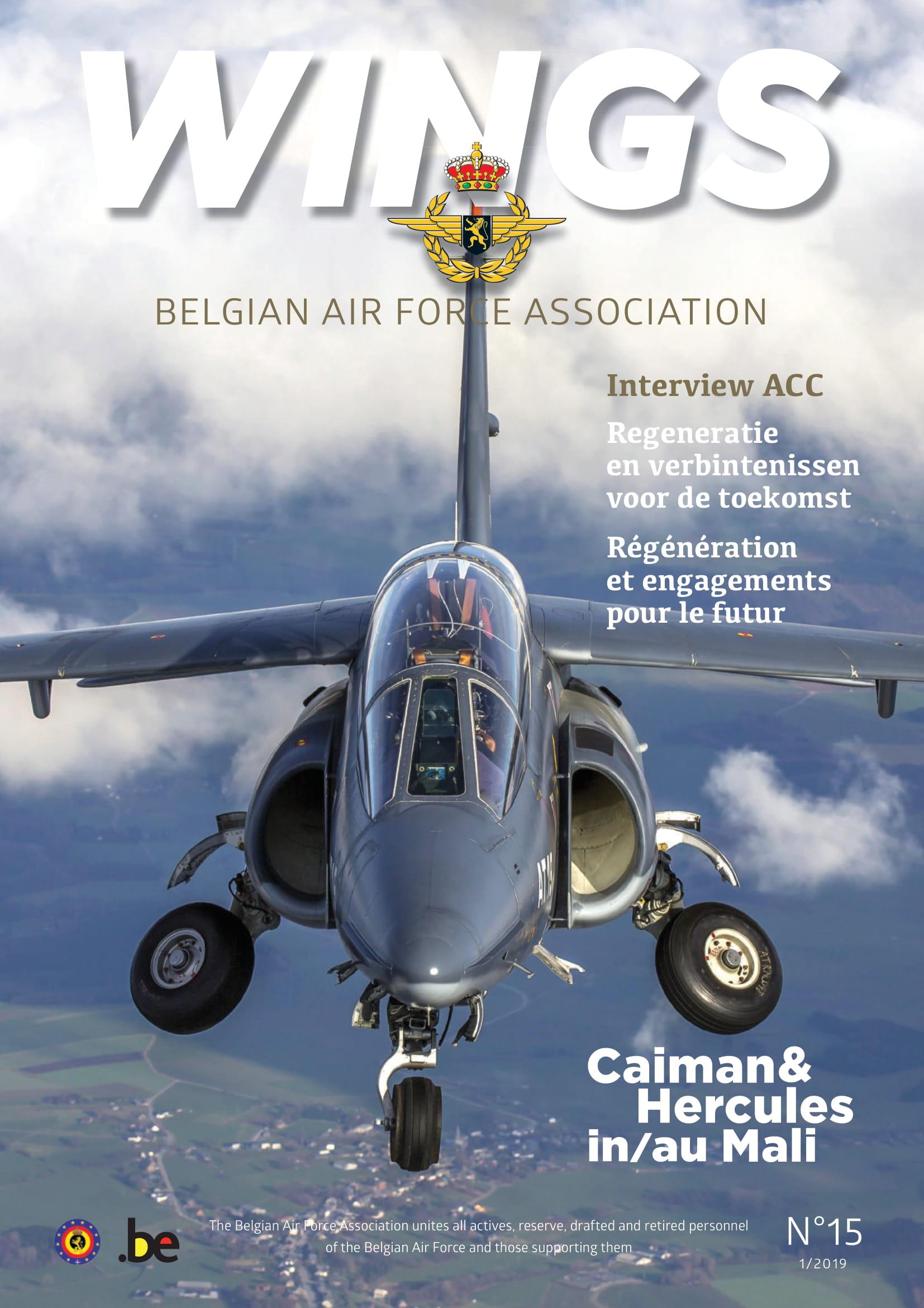 Wings 15 - Belgian Air Force Association